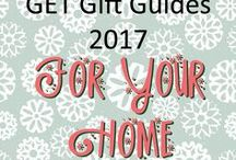 GET Gift Guides 2017 - For the Home / Gifts and decor for your home at Christmas time and the new year beyond.