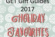 GET Gift Guides 2017 - Holiday Favourites / Hand-picked Christmas goodies from our World-Class Glasgow Etsy Team sellers