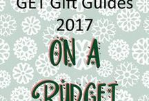 GET Gift Guides 2017 - On a Budget / Fantastic and fabulous gift ideas for those of us with a little less cash than we'd hoped!