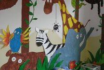 Activities with children of kindergarten