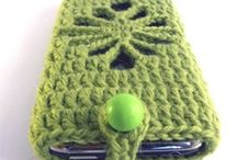 Clothing - Crochet - Bags, Purse, Phone and Music Player Case / by tammy herman