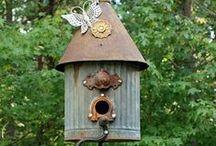Animal houses - Bird feeders - ect