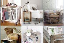 Reciclaje/Caja de Frutas / Storage / Reciclaje- Decor- Storage- Ideas