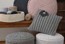 Trapillo / Totora / Crochet / DIY - Tutoriales - Fácil - Ideas