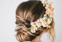 Coronas de Flores / DIY - Coronas de flores para el pelo