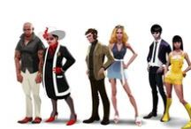 Characters: Modern times / by Tor Kleven