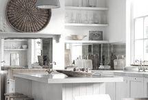 White Kitchen / Decor- Cocina- Kitchen- White- Blanco- Ideas