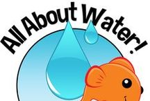 All About Water! / We learn all about the squishy, wave-y, wet world of water at Creative World Schools! Here are some best activities for teaching young children about water, from Infants to Preschoolers!