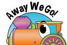 Away We Go! / Cars and trains and methods of motion... we are on the move in our inquiry journey as we explore all about transportation! Here are some great ideas to facilitate inquiry in your classroom.