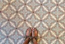 Foot selfies. / Amazing shoes, amazing floors...