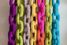Yarn play! / Weaving, rug making, crochet, knitting, Knotting, Tapestry, Hand stitching, macramé.