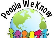 People We Know / There are wonderful, unique people everywhere! Expand your  children's social awareness by exploring the people they know! Talk about parents, teachers, and friends. Provide opportunities for the children to enjoy thinking and learning more about their favorite pretend characters, such as Elmo and Dora! People come in all shapes and sizes, so make sure to provide a variety of activities, games, and crafts to learn more about them!