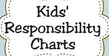 Responsibility Charts / Responsibility charts help encourage children to be more responsible with their assigned tasks and chores.