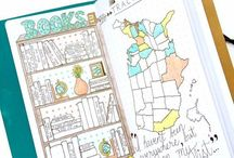 | Bullet Journal Inspiration | / •••DREAM BIG • ORGANIZE WELL • THINK POSITIV • DO WHAT YOU LOVE•••  It´s the place for all your appointments, plans, goals, thoughts, ideas, dreams, memories, sketches and notes connecting your privat with your working life. The one planner that contains enough space for future plans, planning and organizing in advance without the absence of a weekly and daily-layout.