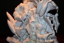 JK Inson Sculpture / Sculpture of JK Inson
