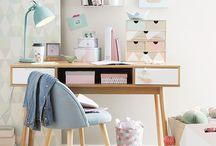 Desk for kids / Workspace for kids- Decor- Kids- Escritorio