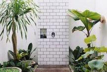 BUITEN DOUCHE | TUIN | BADKAMER / Buiten douche | douche in de tuin | Shower in the garden