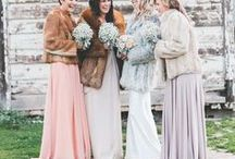 Winter Bridal Accessories