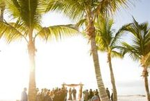 Beach Ceremonies / South Florida is known for amazing sunsets, beaches, destination weddings, and so much more. Take a peek at some breath taking beach ceremonies. Click here to see more: http://theperfectmatchstudio.com/