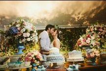 """Casamento / """"Quando a gente ama alguém pelo resto da vida, a gente quer que o resto da vida comece logo."""""""