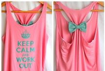 Workout Style / clothes we love to sweat in