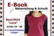 E-Books - zum selbermachen... / Nähe Dir Dein Lieblingsteil selbst. Hier findest Du Schnitte und Anleitungen als E-Book