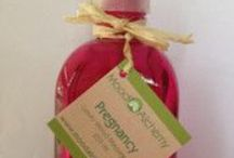 Pregnancy - Aromatherapy Blend / All natural aromatherapy products including essential oils safe for use during pregnancy.