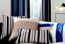 Riviera / The bold dramatic lines and vibrant colours make simple statements that embrace a playful contemporary spirit.