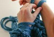 Arm kniting sharf