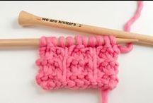 Kötött minták | New stiches knitting