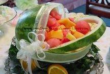 jedzenie dekoracje