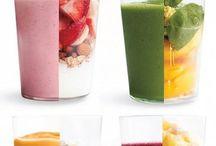 Mad opskrifter - smoothies og drikkelse