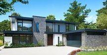 Architecture / #Maison #Villa #Loft #Réhabilitation #Construction #Création #Contemporaine #Moderne #Rénovation #Espace #Bâtiment . Maison à vivre dessinée par des architectes. Façades de bâtiment de caractère.