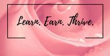Learn. Earn. Thrive. / This Pinterest board is for anything relating to earning more money, saving more money, and helping others reach their dreams. Rules: 2 pins per day and no repeats in a 10 day period. For every pin you place here, please repin someone else to your own boards. This Pinterest board is meant to spread the love so that everyone can gain :) If you would like to join, please follow me and email me at budgetwithbelle (@) gmail.com.