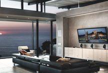 Living room / #Salon #pièce #vie #Chaleur #Convivialité  La pièce de vie principale de toute maison ou appartement. Le salon pour s'installer confortablement dans notre canapé.