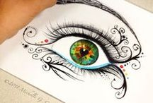Doodles, draw, illustration *-* / uma antiga paixão. <3