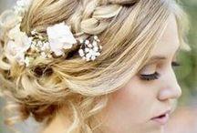 Brautfrisuren / Haarstyling und Frisur-Ideen für die moderne Braut
