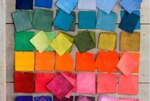 color palettes | bright colors / inspirational bright colored moods.