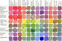 color | theory / anything I found in color theories.