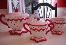 ❤ RED & WHITE FOR HOME ❤