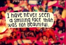 Beautiful Reminders  / Quotes about true beauty