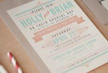 Wedding stationery Inspiration / Wedding stationary from our portfolio and inspiration we like from others....