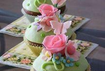 Candy Bar: Torten und Sweet Table / Süße Ideen für Candy Bar und Sweet Table auf deiner Hochzeit