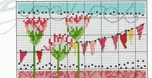 Garden Cross stitch