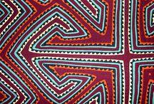 patterns | mola / mola -traditional handcraft technic