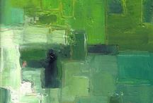 color palettes | green / inspirational greenish greens