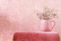 color palettes | pink / inspirational pretty in pink colored moods