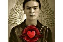 F comme  Frida !! / by Carole Brown Morabito