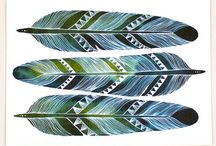 motif   feathers / inspirational feathers