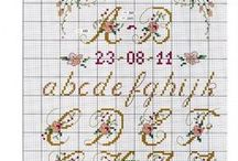 Alphabet Cross stitch